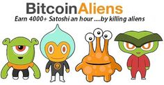 ANONYMOUS BLOGGER: Free BTC - Bitcoin gratis dari Bitcoin Aliens