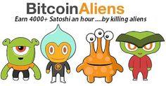 ANONYMOUS BLOGGER: Free BTC - Bitcoin gratis dari Bitcoin Aliens