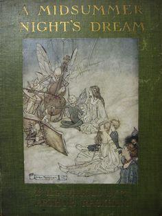 Arthur Rackham - cover artist 1908
