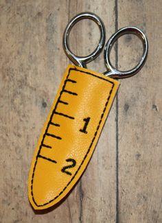 Digital Download  Mini Measuring Tape Scissor Sleeve In The