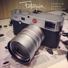 The Leica M Type 240 with Summilx-M 50mm F1.4 ASPH.   It is difficult but we do manage to get some Leica M Type 240 for our customers since it's launched.