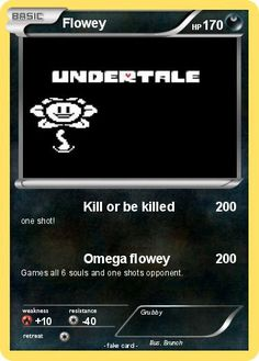 Pokemon Flowey
