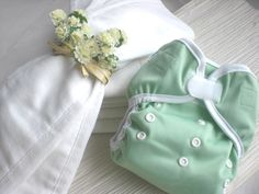 Economical Package! 2 Dozen Prefold and 4 Happy Leakfree Diaper Covers - Kawaii Baby Diapers