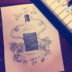 Jack Daniels artwork