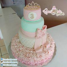 Diseño de CocinArte Amor. Fondant Cake