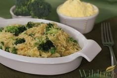 Cheezy Orzo with Brocccoli and Peas - Wildtree Recipes! To order any of the Wildtree ingredients please go to my website http://www.mywildtree.com/SHOLLY/