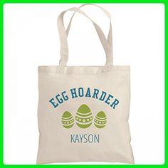 Easter Egg Hoarder Kayson: Liberty Bargain Tote Bag - Shoulder bags (*Amazon Partner-Link)