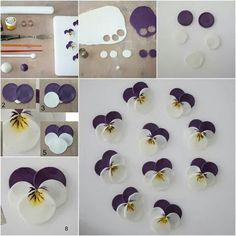 DIY Polymer Clay Pansies www.c 2019 DIY Polymer Clay Pansies www.c The post DIY Polymer Clay Pansies www.c 2019 appeared first on Clay ideas. Polymer Clay Flowers, Fimo Clay, Polymer Clay Projects, Polymer Clay Creations, Polymer Clay Jewelry, Polymer Clay Sweets, Clay Earrings, Fondant Flower Tutorial, Fondant Flowers