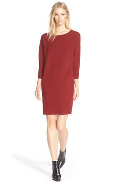 VINCE Woven Back Sweater Dress. #vince #cloth #dress