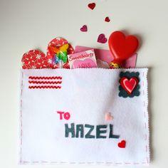 Design Improvised: Valentine Envelope