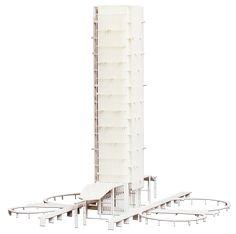 Architektonisches 3D Modell eines Wolkenkratzers 3d Modelle, Willis Tower, Building, Skyscraper, Modernism, Buildings, Architectural Engineering