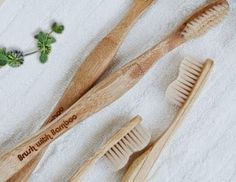 Aquarian Bath: New Bamboo Tooth Brushes
