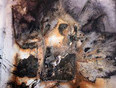'Twas a Dark and Stormy Eco Print… « Threadborne - Fantastic eco print by Wendy Fyfe