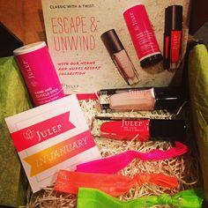 Julep Maven box, January 2013, via Luxe Glow beauty blog. #nails