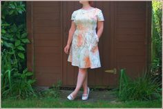 Sew Cotton: The Laneway Dress - V1: Wearable Muslin