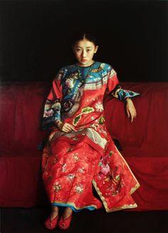 Splendid Attire  Zhao Kailin (China 1961)