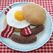Breakfast Sandwich/Bun Crochet Pattern - via @Craftsy