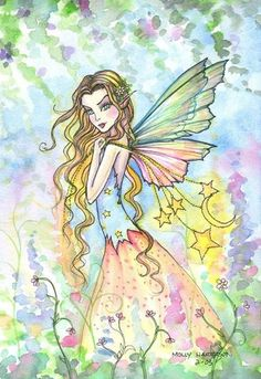 Fairy Art by Molly Harrison Magical Garden