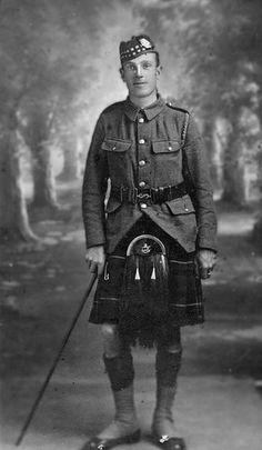 Liverpool Scottish Soldier