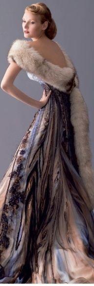 Blanka Matragi - Czech designer. I'd love to own this gown.