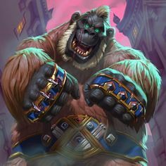 "Hearthstone Artworks on Twitter: ""Art of the collectible cards: Knuckles by Sam Nielson #Hearthstone #Art #Gadgetzan https://t.co/rKdCgxHknx"""