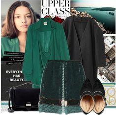 """""""Green Light!"""" by bklana ❤ liked on Polyvore"""