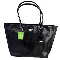 Kate Spade New York Cedar Street Harmony Tote Black   Kate Spade New York Cedar Street Harmony Tote Black Details & Care Kate Spade New York 'Cedar Street Harmony' over the shoulder bag with zip top closure. Black patent leather. Two handles. Interior zip and double slide pockets. Exterior card holder pocket. 14-karat light gold plated hardware. Custom woven deco dot printed on faille lining. By Kate Spade; Imported. SIZE 10''h x 12''w x 6''d drop length: 9'  http://www.beststreets..