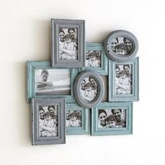 Iva Photo Frame with Aged Effect Paint Finish La Redoute Interieurs - Wall Art & Clocks
