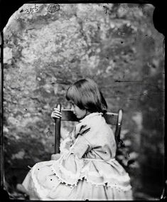 Alice Liddell    by Lewis Carroll (Charles Lutwidge Dodgson)  wet collodion glass-plate negative, summer 1858  6 in. x 5 in. (152 mm x 127 mm)  Purchased jointly with the National Museum of Photography, Film and Television, Bradford, with help from the National Heritage Memorial Fund, 2002