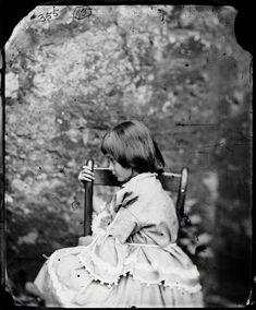 Lewis Carroll a través del espejo,. Brassaï