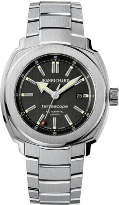 Discover the JEANRICHARD watches official website. Creative craftsmanship since JEANRICHARD turns time into an art of living, a philosophy. Pre Owned Watches, Watches For Men, Wrist Watches, Stainless Steel Bracelet, Stainless Steel Case, Jean Richard, Best Looking Watches, Luxury Watches, Pink And Gold