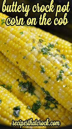 Crock Pot Corn on the Cob ~ Buttery and so easy... Throw in your slow cooker no-foil method!