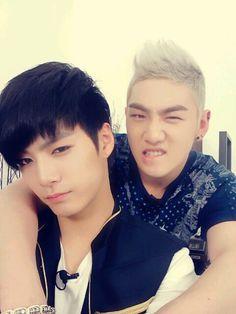 JR + Baekho (NU'EST)
