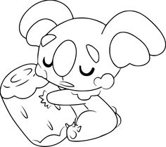 Pokemon Komala Coloring Pages Through The Thousand Photos Online Concerning We All Picks Very Best Collections Using