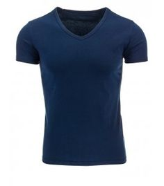 Pánske tmavo modré tričko