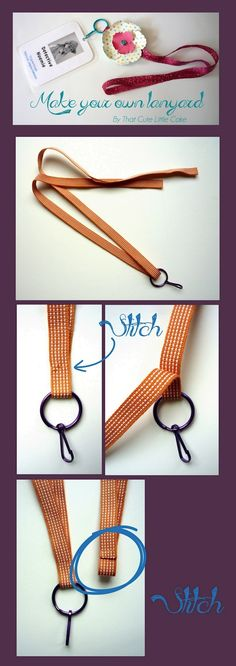 {Craft} DIY Lanyards | That Cute Little Cake Lanyard Tutorial