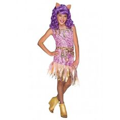 Glam up with Monster High Clawdeen Wolf Purple Kids Wig. Cool Ideas of Monster High Wigs for Halloween at PartyBell. Fantasia Monster High, Festa Monster High, Halloween Costumes For Girls, Girl Costumes, Halloween Wigs, Trajes Monster High, Kids Wigs, Wolf Costume, Dresses For Tweens