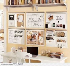 This mixed with clip boards.. could keep craft/office table free of clutter - sarah mae
