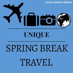 As an expert in the travel and hospitality industries, Curtis Carlson Nelson has witnessed many common trends for spring break travele. Spring Break, Hospitality, Travel Tips, Unique, Places, Lugares, Travel Advice