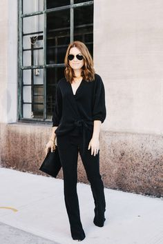 chic in all black