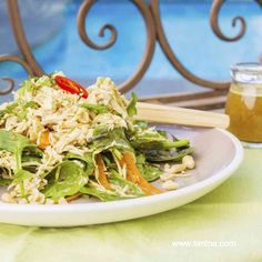 Thermomix recipe: Chicken Salad with Vietnamese Dressing · Tenina.com