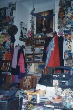 Posts about teenage bedroom written by Vanessa Berry Punk Bedroom, Grunge Bedroom, Room Ideas Bedroom, Bedroom Inspo, Bedroom Decor, Vintage Teenage Bedroom, Hippy Room, Indie Room, Retro Room
