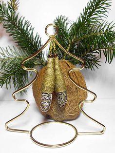 Natur-Zapfen Birke-Ohrringe, Natural Line, Eco Natur,  Natural Birch Cones-earrings