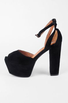 LOVE THESE SHOES! Jeffrey Campbell Perfect Suede Platform Heels $160