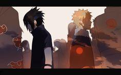 Sasuke Uchiha and Naruto Uzumaki Naruto Uzumaki Shippuden, Naruto Sasuke Sakura, Naruto Cute, Hinata Hyuga, Itachi, Anime Naruto, Boruto, Narusasu, Sasunaru