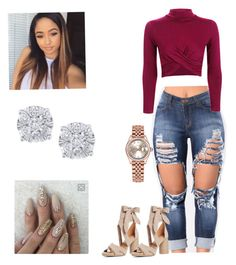 """""""Casual 😛"""" by lailac01 on Polyvore featuring Kenneth Cole Reaction, Topshop, Rolex and Effy Jewelry"""