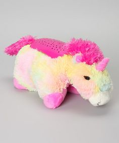 Take a look at this Unicorn Dream Lites Plush Night-Light by Dream Lites on #zulily today! $18 !!