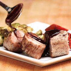Maple-Glazed Pork & Roasted Veggies