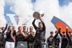 Dean Barker et ETNZ remportent la Vuitton Cup ! [Credit : G.Martin Raget] #americascup #LVCup #sailing #SanFrancisco | www.scanvoile.com