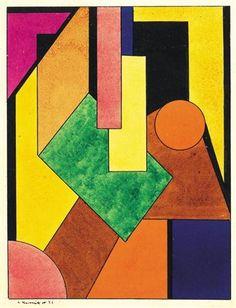 Constructivist Composition - Lajos Kassak